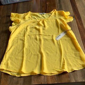 Yellow blouse XL